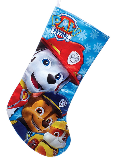 Kurt Adler Paw Patrol Characters Holiday Stocking