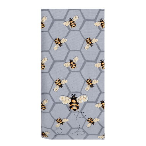 Bee Inspired Honey Bees Dual Purpose Terry Kitchen Dish Towel