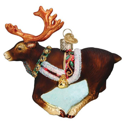 Reindeer Santas Favorite Christmas Holiday Ornament