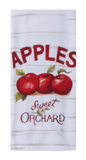 Apple Picking Apples Sweet Orchard Dual Purpose Kitchen Terry Towel