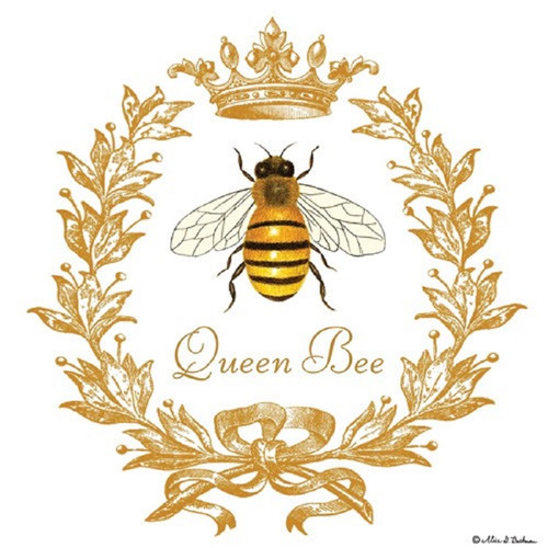 Queen Bee Flour Sack Kitchen Towel Cotton
