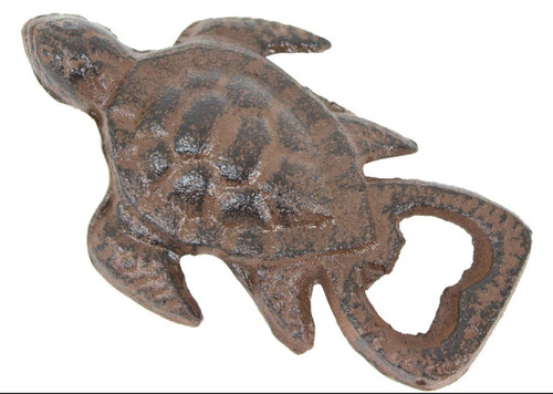 Sea Turtle Handheld Bottle Opener Cast Iron