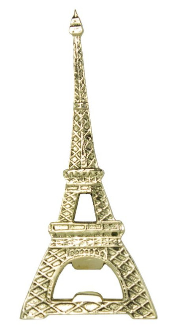 Eiffel Tower Bottle Opener Polished Brass Hand Held