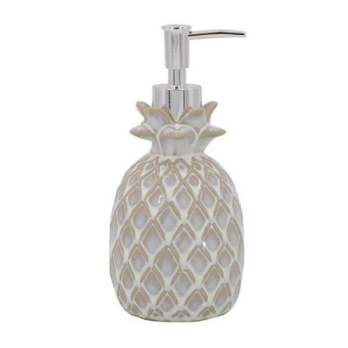 Pineapple Soap or Lotion Pump Ceramic Kitchen or Bath