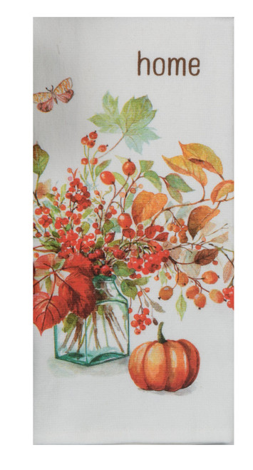 Berry Bouquet Autumn in Nature Dual Purpose Kitchen Terry Towel
