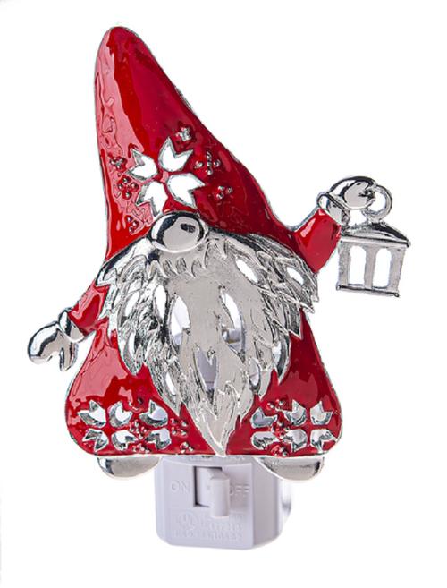 Santa Gnome for the Holidays Christmas Night Light