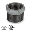 3-1/2 in. x 2-1/2 in. Galvanized Pipe Fitting 150# Malleable Iron Threaded Hex Bushing, UL/FM