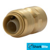 Sharkbite - 1/2 in. x 1/2 in. FNPT Straight Push-Fit Female Connector - Lead Free Brass