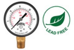 PEM Economy Pressure Gauges, Lead Free