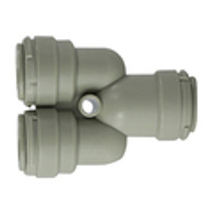 2 Way Divider Plastic Push In Fitting