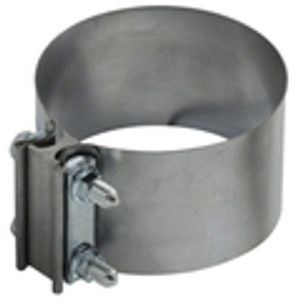 Aluminized Steel Butt Exhaust Clamps