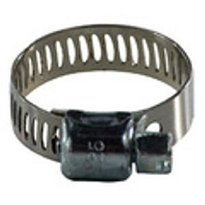 300 Series Miniature Worm Gear Hose Clamps