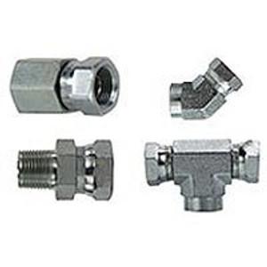 Steel Hydraulic Fittings & Adapters