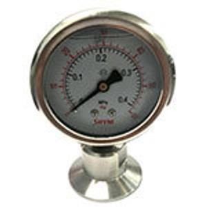 Tri-Clamp Pressure Gauges