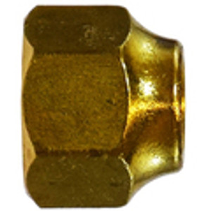 Short Forged Nuts Brass SAE 45 Flare
