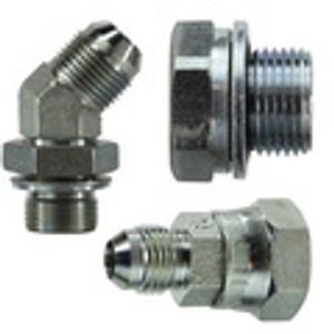 Steel BSPP Adapters