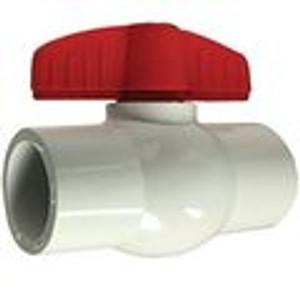 White Socket PVC Ball Valves