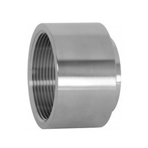 1-1/2 in. Unpolished Female NPT x Weld End Adapter (22WB-UNPOL) 304 Stainless Steel Tube OD Fitting