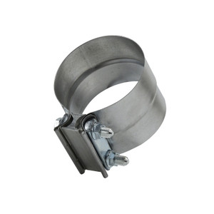 2.50 in. Aluminized Steel Lap Exhaust Hose Clamp