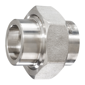 1/2 in. Socket Weld Union 316/316L 3000LB Forged Stainless Steel Pipe Fitting