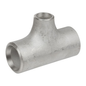 2-1/2 in. x 1-1/4 in. Butt Weld Reducing Tee Sch 80, 316/316L Stainless Steel Butt Weld Pipe Fittings