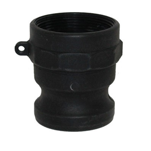 1/2 in. Type A Adapter Polypropylene Male Adapter x Female NPT Thread, Cam & Groove/Camlock Fitting