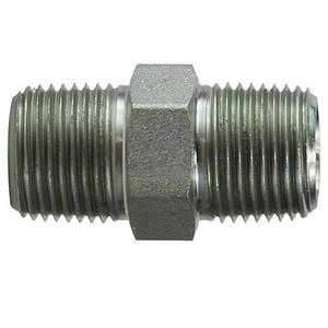 2 in. x 2 in. Hex Nipple Steel Pipe Fitting