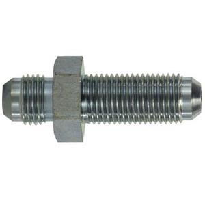 7/16-20 Male JIC Bulkhead Union Steel Hydraulic Adapters