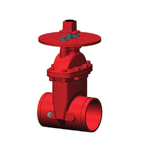 4 in. NRS Gate Valve 300PSI Grooved x Grooved End, UL/FM, NSF Approved Fire Protection Valve