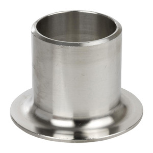 1/2 in. Stub End, SCH 40 MSS Type A, 304/304L Stainless Steel Weld Fittings