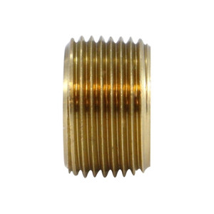 3/4 in. x 3/8 in. Face Bushing, MIP x FIP, NPTF Threads, 1000 PSI Max, Brass, Pipe Fitting