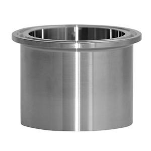 1 in. Tank Ferrule - Heavy Duty (14MPW) 304 Stainless Steel Sanitary Clamp Fitting (3A)