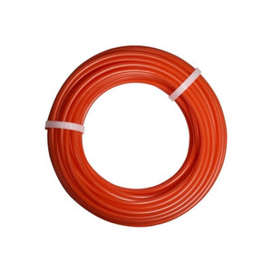 1/4 in. OD Linear Low Density Polyethylene Tubing (LLDPE), Orange, 100 Foot Length, Working Pressure 150
