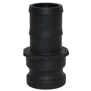 1-1/2 in. Type E Adapter Polypropylene Male Adapter x Hose Shank, Cam & Groove/Camlock Fitting