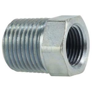 1/4 in. Male x 1/8 in. Female Steel Hex Reducer Bushing Hydraulic Adapter