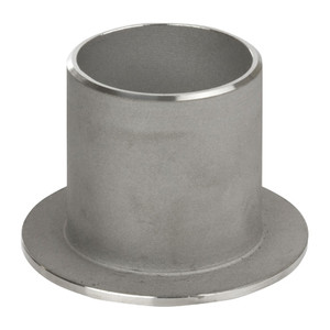 1/2 in. Stub End, SCH 10 MSS Type C, 316/316L Stainless Steel Weld Fittings