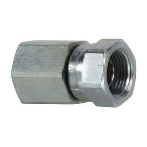 1/2 in. Female NPT x 1/2 in. Female NPSM Steel Pipe Swivel Adapter