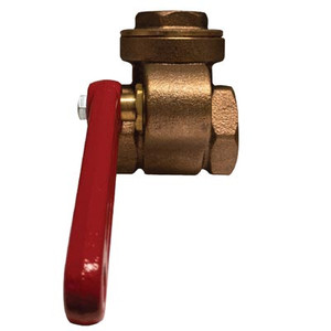 1/2 in. Quick Opening Gate Valve, Features: Bronze Material, Threaded Ends