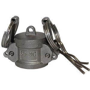 1/2 in. Type Dust Cap Camlock Quick Connect, 304 Stainless Steel