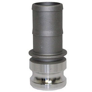 1/2 in. Type E Adapter Aluminum Male Adapter x Hose Shank, Cam & Groove/Camlock Fitting