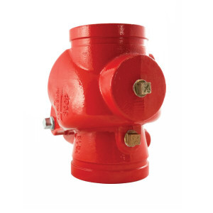 2 in. DGC Grooved Swing Check Valve 300 PSI UL/FM Approved