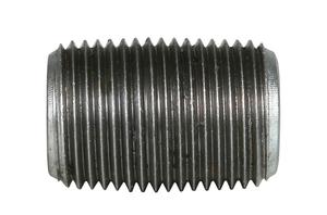 1/8 in. x CLOSE Galvanized Pipe Nipple Schedule 40 Welded Carbon Steel