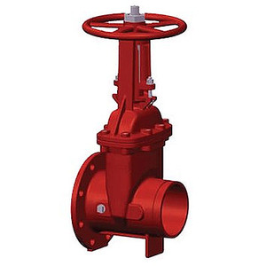 2-1/2 in. OS&Y Gate Valve 300PSI Flanged x Grooved End UL/FM Approved Fire Protection Valve