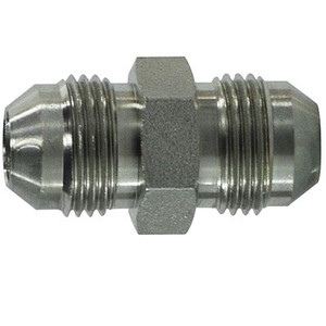 3/8-24 JIC Tube Union Steel Hydraulic Adapter