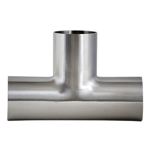 1 in. 7W Tee 304 Stainless Steel Sanitary Fitting