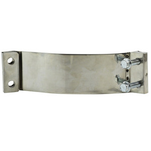 2.25 in. Easy Form Clamp, Stainless Steel Exhaust Clamp