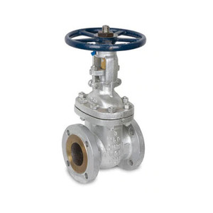 6 in. Flanged Gate Valve 316SS 300 LB, Stainless Steel Valve