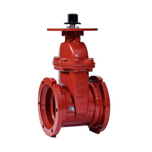 4 in. NRS Gate Valve 300PSI Flanged End UL/FM Approved Fire Protection Valve