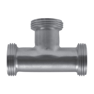 2-1/2 in. 7 Tee (3A) 304 Stainless Steel Bevel Seat Sanitary Fitting