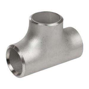 1/2 in. Butt Weld Tee Sch 80, 304/304L Stainless Steel Butt Weld Pipe Fittings